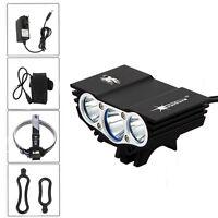 5000LM XM-L T6 LED Head Lamp Front Bike Bicycle Light Headlight Taillight Set