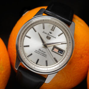 Vintage (Nov 1964) SEIKO Sportsmatic Deluxe 7606-7911, dolphin, serviced