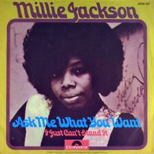 """7"""" MILLIE JACKSON Ask Me What You Want / I Just Can't Stand It POLYDOR Soul 1972"""