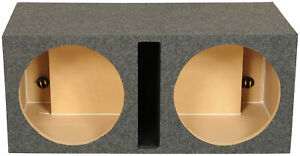 "Rockville RDV15 Dual 15"" Vented Subwoofer Enclosure Sub Box 2.4 CU FT"