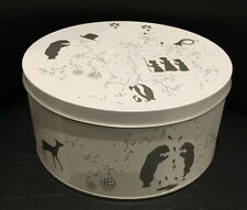 Georg Jensen December Tales The Family Cookie Tin with Cutters / New in Box