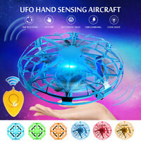 Mini UFO Hand Inductive Aircraft Suspension Flying Toys Suspension Drone Gift