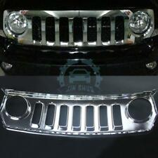For Jeep Patriot 2011-2015 Silver Plating Car Front Bumper Grille
