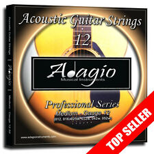 TWO PACKS - The Best Acoustic Guitar Strings 12-52 - ADAGIO PRO