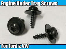 20x Engine Under Tray Metal Mounting Screws Nut Bolt Torx For Ford Focus Fiesta