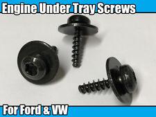 10x Engine Under Tray Metal Mounting Screws Nut Bolt Torx For Ford Focus Fiesta