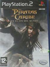 PIRATAS DEL CARIBE EN EL FIN DEL MUNDO PLAYSTATION 2 PS 2 NUEVO PRECINTADO