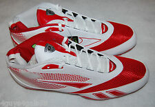 Mens Football Cleats REEBOK U Form Mid M4 RED WHITE Size 13