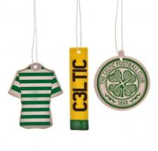 Celtic FC Official Crested Air Fresheners 3 Different Designs Present Gift
