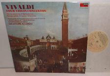 CFP 4536 Vivaldi Four Violin Concertos Salvatore Accardo Plays Cremona Violins