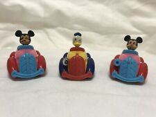 Vintage - 1970s Tomica Disney Characters Die Cast Cars #5556- Set of 3