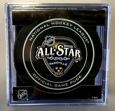 2016 NHL ALL STAR GAME OFFICIAL NHL GAME PUCK NASHVILLE BRAND NEW IN CUBE