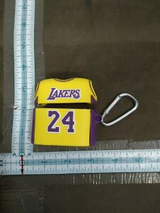 Apple Airpod Protective Case Cover With Keychain 24 jersey Lakers