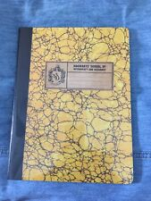 Hogwarts School of Witchcraft and Wizardry Composition Book  Hufflepuff