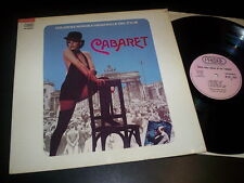 "Ralph Burns ""Cabaret (Colonna Sonora Originale Del Film)"" LP Probe Italy 1972"