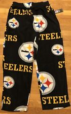 Pittsburgh Steelers Mens Pajama Bottoms Small Nwt