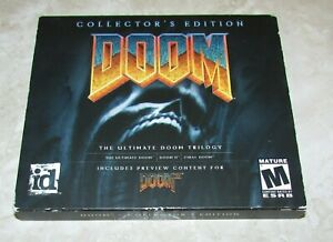 Doom: Collector's Edition (PC, 2001) The Ultimate Doom Trilogy Fast Shipping