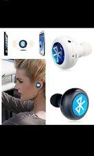 Cuffie Bluetooth Cuffie COLORE BIANCO MINI ultra-piccoli iPhone 7/6/5, Samsung