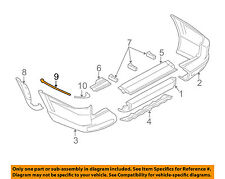 MITSUBISHI OEM 01-02 Montero Rear Bumper-Reinforcement Right MR556024