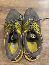 New listing Brooks Mens Glycerin 11 Grey Yellow Running Walking Tennis Shoes Size 11.5 D