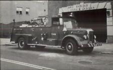 FDNY New York City Fire Dept Unit 81 Fire Engine 1954 Mack - 1983 Postcard