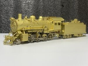 Ho Brass By Sunset  2-8-0 AT&SF Steam Locomotive