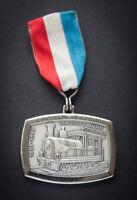 Medaille, Luxemburg, Jangely's Bunn Cruchten 1881-1948 , Eisenbahn, Luxembourg