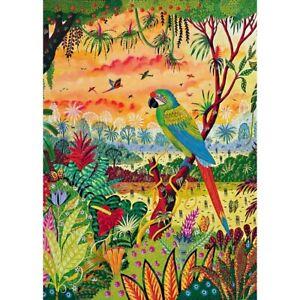 Piatnik 1000 Piece Jigsaw Puzzle - Aras Great Green Macaw