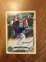 2019 Topps Gypsy Queen Luis Urias Auto Autograph GQA-LU Padres RC
