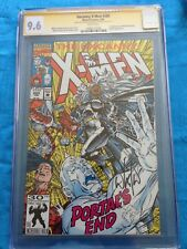 Uncanny X-Men #285 - Marvel - CGC SS 9.6 NM+ - Signed by Whilce Portacio, Wiacek