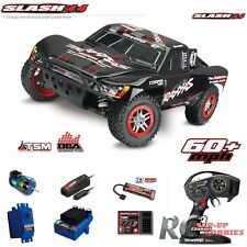 Traxxas 68086-21 Slash RTR 4x4 VXL Brushless Black Short Course Racing Truck OBA