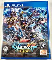 MOBILE SUIT GUNDAM: EXTREME VS. MAXI BOOST ON New PS4 Game ASIA Import US Seller