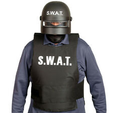 Special Unit Helmet Swat for Adults Police Kids Fancy Dress Costume Accessories