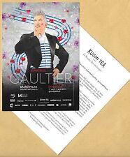 Carte postale publicitaire advertising card JEAN PAUL GAULTIER KUSMI TEA (1)