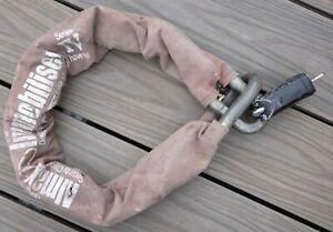 Almax Immobiliser Series IV 19mm Chain 1m plus Squire ss65cs Padlock with 2 keys