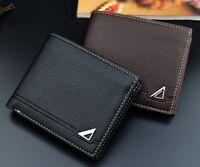 Cool Boy's Men's Wallets Slim Bifold Leather Credit Card ID Holder Wallet Purse