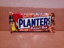 New ListingPlanters Peanut Mr Peanut Nabisco Original Peanut Bar 1.6 oz Unopened Lot#54