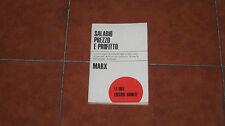 MARX SALARIO PREZZO E PROFITTO EDITORI RIUNITI LE IDEE 1970 TRADUZIONE TOGLIATTI