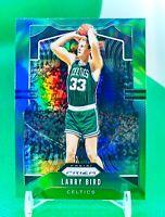 Larry Bird 2019-20 Panini Prizm Basketball Green HOLO Prizms Refractor Celtics