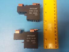 RELAY, ZETTLER, AZ2510P2-1A-12D, COIL: 100A-240VAC