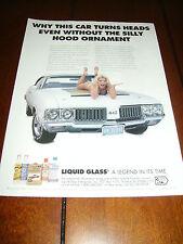 1970 OLDSMOBILE 442 LIQUID GLASS ***HOT GIRL / PIN-UP*** 4-4-2