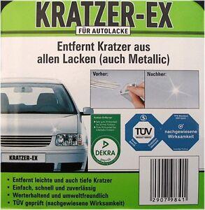 KRATZER ENTFERNER EX KRATZEREX Auto Lackpflege Autopflege Kratzer PKW Lack NEU