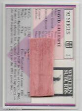 1992 NSW RL REGINA (2) David GILLESPIE Western Suburbs - Chewy & Wrapper