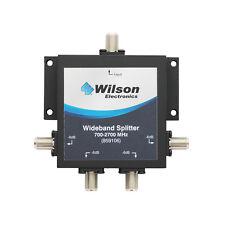 Wilson 859106 75 Ohm 4-Way Splitter w/F-Female 700-2500Mhz