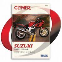 1999-2002 Suzuki SV650 Repair Manual Clymer M361 Service Shop Garage