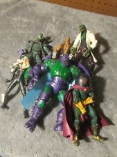 Spider-Man Classics/Marvel Legends Villains loose Six action figure Lot