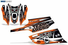 Decal Graphic Kit Arctic Cat FireCat F5,F6,F7 Sled Sabercat Snowmobile Wrap ORNG