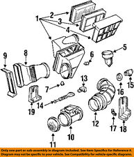 BMW OEM 92-95 325i-Mass Air Flow Sensor 13621747155