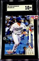 2020 Topps Opening Day Gavin Lux ROOKIE RC #70 - SGC 10 GEM MINT PSA BGS