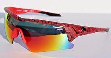 SPY OPTICS Screw Over Sunglasses Infinite Red/Happy Gray/Red Interchangeable NEW